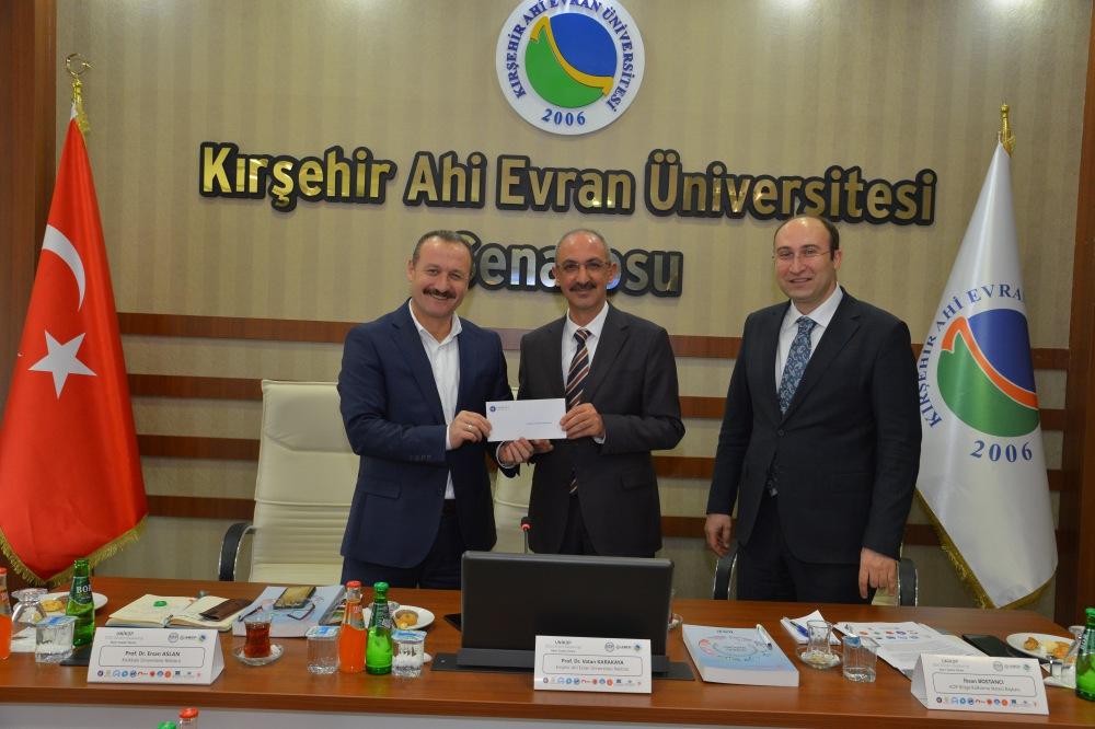 UNİKOP'un Yeni Dönem Başkanlığı Kırşehir Ahi Evran Üniversitesinde