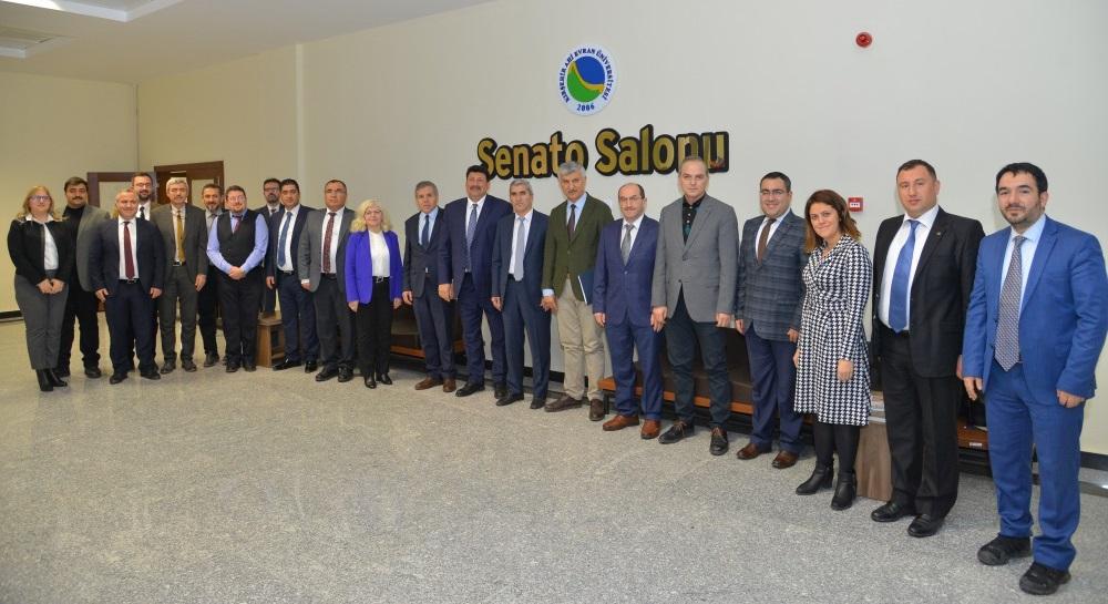 UNİKOP Dönem Başkanı Kırşehir Ahi Evran Üniversitesi İlk Toplantısını gerçekleştirdi