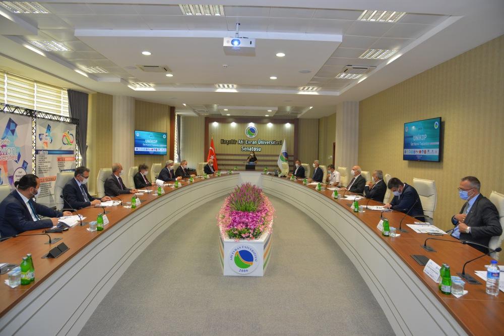 UNİKOP Üst Kurul Toplantısı Kırşehir Ahi Evran Üniversitesi Ev Sahipliğinde Yapıldı